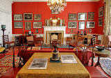 Lauriston Castle - Sitting Room, Newspapers on the Table - October 2011