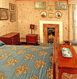 Lauriston Castle - Mr Barton's Bedroom - October 2011