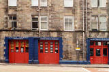 London road Fire Station  -  converted for use by Edinburgh University Settlement