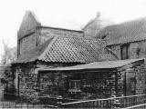The back of Longstone Inn, Longstone Road  -  photographed around 1960
