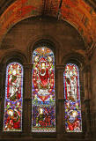 Mansfield Traquair Centre, Broughton Street, Edinburgh  -  Stained glass windows and murals