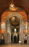 Mansfield Traquair Centre, Broughton Street, Edinburgh  -  The Chancel Arch and Baldacchino
