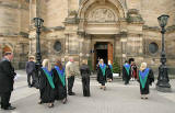 Outside the McEwan Hall before the Edinburgh University Graduation Ceremony  -  June 30, 2008