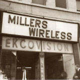 Millers Wireless shop at 132 Leith Street