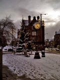 Morningside Clock  -  Christmas 2007