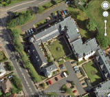 Google Earth  -  View of Mount Alvernia