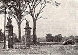 Muirhouse Mansion  -  Eagle Gartes, demolished around 1960