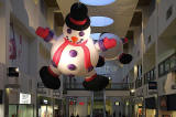 Snowmen at Ocean Terminal Shopping Centre  -  Christmas 2011