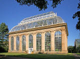 The west side of the Palm House  -  Royal Botanic Gardens, Edinburgh  -  October 2007