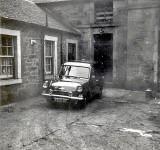 Coach House Square at Comiston Castle and Ford Van