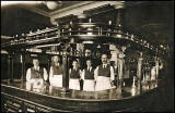 Rutherford's Bar Staff  -  Photograph probably taken between 1920s and 1940s.