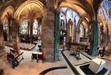 View from the Pulpit at St Giles' Church,  Edinburgh  -  looking south  -   zoom-out
