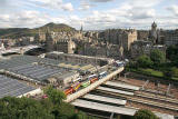 View from the Scott Monument, looking SE  -  August 2009