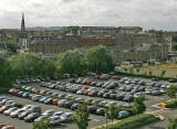 View from the roof of Scottish Government Office  -  September 2007