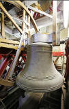 Bell, rehung in the tower of St Andrew's and St George's West Church, George Street, Edinburgh