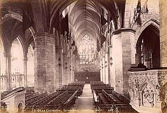 St Mary's Cathedral [interior]  -  Photo by ALex A Inglis