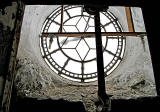 St Stephen's Church  -  Clock face photographed from inside the tower - 2010