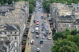 View from the top of the tower at St Stephen's Church, Stockbridge, looking south - 2010