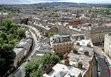 View from the top of the tower at St Stephen's Church, Stockbridge - 2010