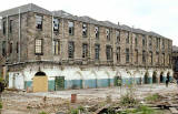 The building that was to become Standard Life's Admin Office -  Tanfield House at Canonmills