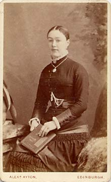Alex Ayton jun  -  Carte de Visite  -  No 2  -  front