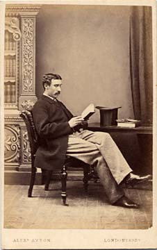 Alex Ayton jun  -  Carte de Visite  -  No 3  -  front