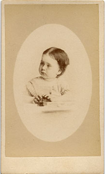 Carte de visite by Adam Diston  -  1877-1882  -  Girl