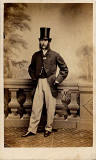 Carte de Visite  -  No 2  -  front  -  by James Gilchrist