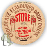 Acme Farmers Dairy, Toronto, Canada  -  Milk Bottle Top