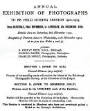 Transactions of Edinburgh Photographic Society - Announcement of Exhibition to be held in November 2002