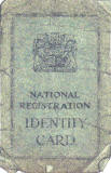 National Registration Identity Card, 1943