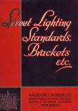 MacKenzie & Moncur Catalogue - Street Lighting Standards, Brackets, etc. - 1937, Cover