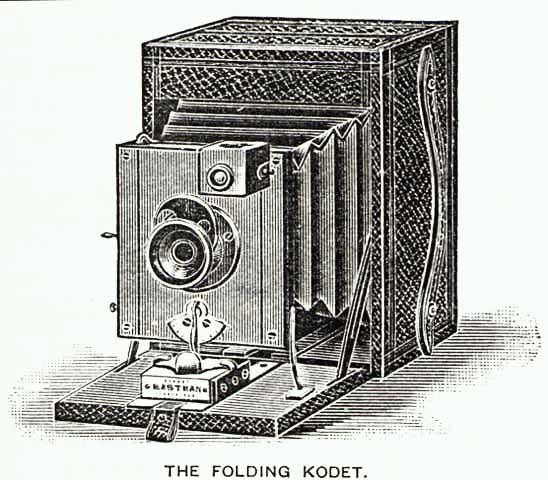 Photographic Equipment from the 1890s  -  The Folding Kadet