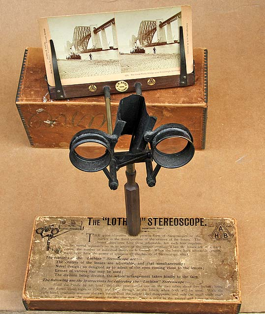 The Lothian Stereoscope by AH Baird, 1895