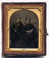 Ambrotype Photo by Robert Armstrong, 63 Princes Street, Edinburgh
