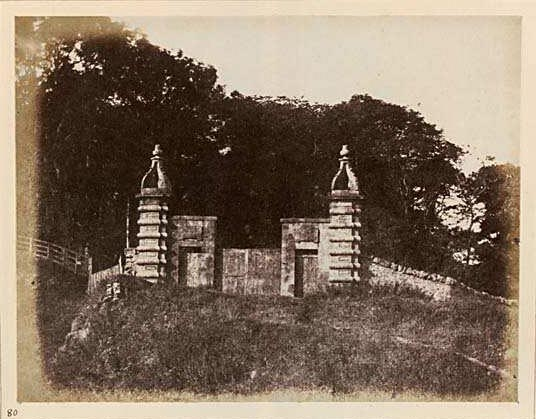 Photograph from Edinburgh Calotype Club album  -  Volume 2, Page 66  -  Caroline Park