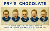 Postcard  -  Fry's Chocolate advert