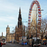 Edinburgh's Christmas 2013  -  The Edinburgh Wheel in East Princes Street Gardens