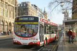 Route 22 bus in Princes Street  -  November 2005