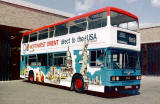 LRT Buses with 'All-over Adverts' - 1980s