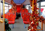 Lothian Buses' Grotto Bus at Craigleith Retiail Park on December 18, 2012