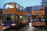 Lothian Buses' Grotto Bus at Waverley Bridge on December15, 2013