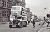 Buses in North Saint Andrew Street - possibly around the early-1960s