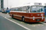 Lothian Region Transport  -  bus No 101, restored, at Ocean Terminal