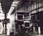 Bus Depot  -  Washing the bus