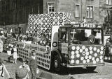 One of the lorries in the Leith Carnival, 1966