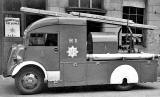 Edinburgh Auxiliary Fire Servive  -  first Ford Heavy Unit at Stockbridge