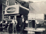 Lunn's Removal Vans  -1930s?
