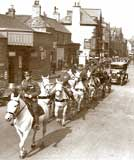 Photograph of Coach and Horses  -  Where and when might it have been taken?