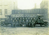 Royal Naval Hospital Vehicle  -  Edinburgh, 1918